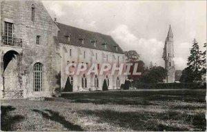 Modern Postcard General view (East Coast) Royaumont Abbey Asnieres sur Oise