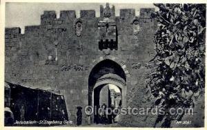 Jerusalem - St. Stephans Gate Judaic, Judaica Postcard Postcards  JerUSAlem -...