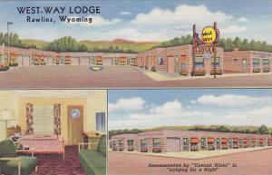 Wyoming Rawlins West-Way Lodge