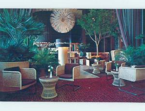 Unused 1980's RESTAURANT AT HILTON HOTEL Denver Colorado CO B8824-22
