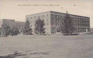 Maine Orono Mens Dormitories University Of Maine