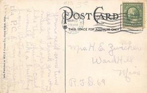 Benton Harbor Michigan~First Methodist Episcopal ME Church~1912 Postcard