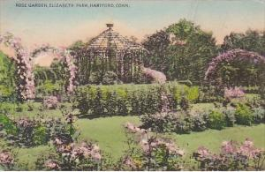 Connecticut Hartford Rose Garden Elizabeth Park 1942