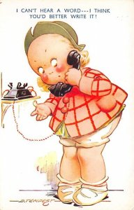 I can't hear a word I think you'd better write it! Artist Tempest Telephone U...