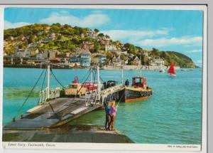 Devon; Lower Ferry, Dartmouth PPC, By Hinde, c 1960's, Note A40 Farina