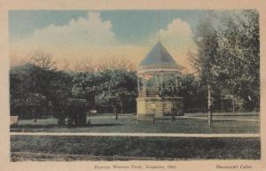 NAPANEE , Ontario , Canada , 1930s ; Harvey Warner Park