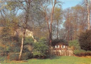 Weimar Park an der Ilm Borkenhaeuschen, Ilm Riverside Park Little Bark House
