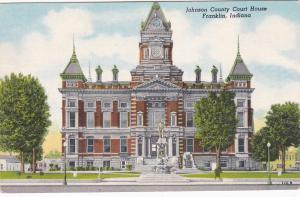 FRANKLIN, Indiana; Johnson County Court House, PU-1959