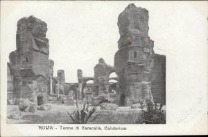 Roma Rome Terme di Caracalla Calidarium