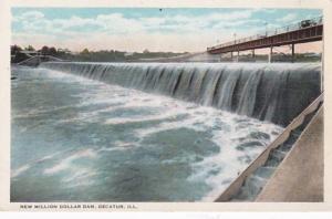 Illinois Decatur New Million Dollar Dam Curteich