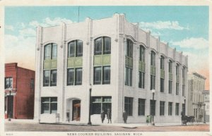 SAGINAW , Michigan , 00-10s; News Courier Building (Newspaper)