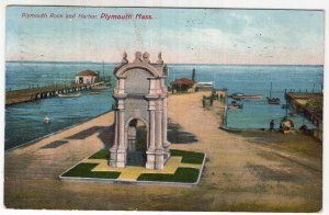 Plymouth, Mass, Plymouth Rock and Harbor