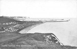 Dover Harbour from Shakespeare Cliff, Panorama