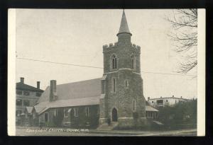 Dover, New Hampshire/NH Postcard, Episcopal Church