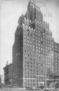 US N.Y. New York City, Hotel Paris, 97th Street and West End, auto, cars