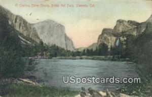 El Capitan, Three Graces, Bridal Veil Falls