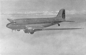 Douglas DC – three Pennsylvania central Airplane Unused
