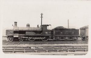 Highland Railway 2P Loch Class 0-6-0 No 1160 Cauliflowers Train Real Photo Ol...