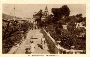 Monaco - Monte Carlo. The Theatre