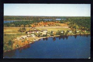 Princeton, Maine/ME Postcard, Play-Stead Camps, Lewy Lake, Washington County