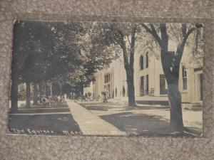 The Equinox, Manchester, Vt. card # 6, 1911, used vintage card
