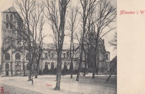 MUNSTER i. W. , Germany , 1890s ; Dom