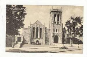 First Baptist Church, Everett, Massachusetts, 1900-1910s