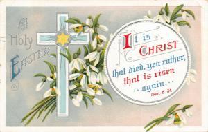 Easter~Bible Verse~It is Christ That Died, Yea Rather, That is Risen~Romans 8:34
