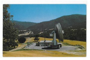 CA Jamesburg Earth Station COMSAT Dish Satellite Communications Space Postcard