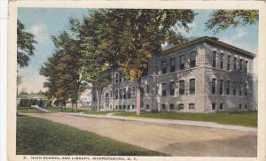 High School and Library, Warrensburg, New York, 10-20s