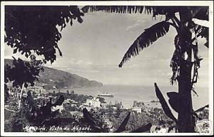 portugal, MADEIRA, Vista da Nazare (1939) RPPC