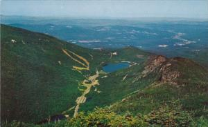 New Hampshire White Mountains Aerial View Of Franconia Notch