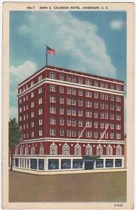 South Carolina Columbia Wade Hampton Hotel