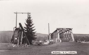 RP, Old Pump and Bridge, Quesnel, British Columbia, Canada, 20-40´s
