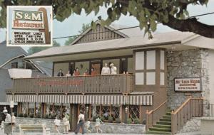 GATLINBURG, Tennessee, PU-1984; S.M. Restaurant