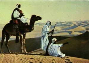 PC CPA SAUDI ARABIA, NEGED, NOMADES DU DESERT, Modern Postcard (b15890)