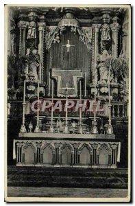 Old Postcard Originalaufnahme hl of Rockes im Dom zu Trier