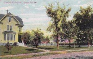 Maine Presque Isle Third &  Academy Street