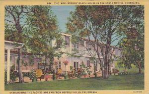 Will Rogers' Ranch, Santa Monica Mountains, overlooking the Pacific not far f...