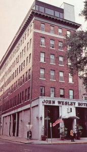 GA - Savannah, John Wesley Hotel (Closed due to fire, 1982. Reopened in 1984...