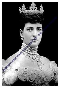 mm628 -  Queen  Alexandra  -  Royalty photo 6x4