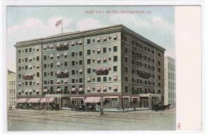 Fort Pitt Hotel Pittsburgh PA 1905c postcard