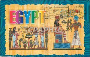 Postcard Modern Egypt To recieve the holy communion and incensing