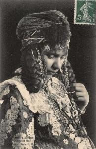 Algerie Ouled Nail Ethnic Africa Postcard