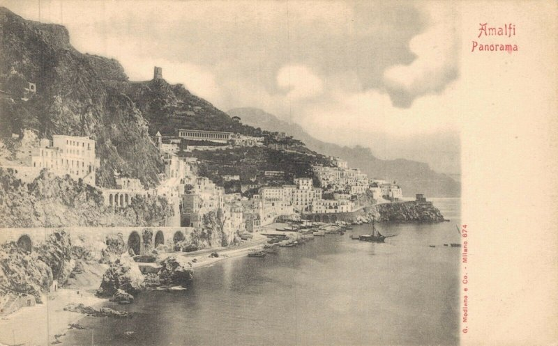 Italy Volterra Siracusa Amalfi and more with RPPC Postcard Lot of 8 01.18