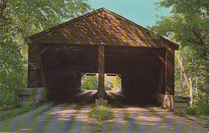 Indiana Brown County State Park Covered Bridge
