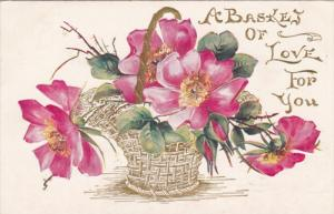 Flower Basket of Love , PU-1908