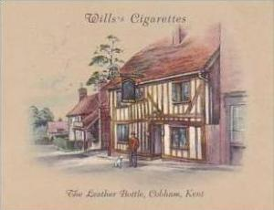 Wills Cigarette Card 2nd Series No 22 Leather Bottle Cobham Kent
