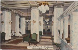 Seattle, Washington, 00-10s ; Lobby, New Washington Hotel