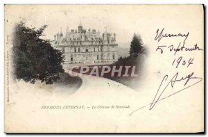 Old Postcard vicinity D & # 39Epernay The Château de Boursault